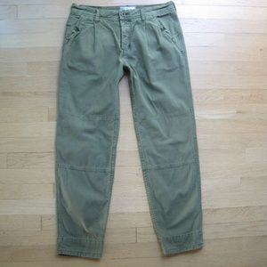 Free people cropped relax fit pants size 27